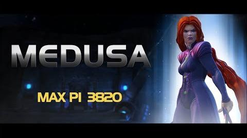 Medusa Special Moves Marvel Contest of Champions