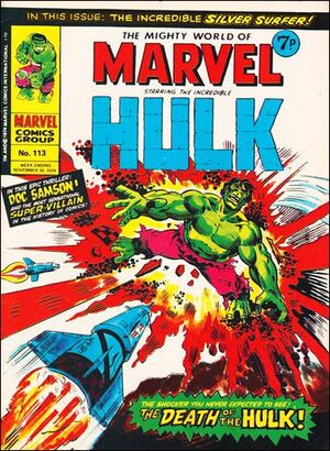 Mighty World of Marvel Vol 1 113