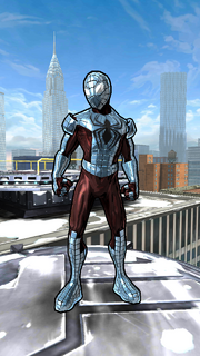 Peter Parker (Earth-TRN489) from Spider-Man Unlimited (video game)