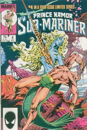 Prince Namor the Sub-Mariner Vol 1 4