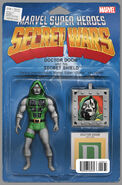 Secret Wars Vol 1 8 Action Figure Variant