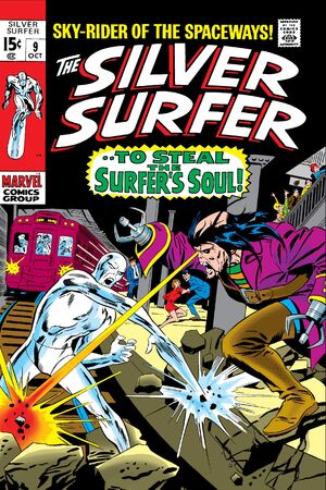 Silver Surfer Vol 1 9