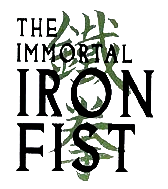 The Immortal Iron Fist (2007) Logo