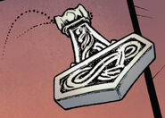 Thor's Hammer Pendant from X-Factor Vol 1 207 001