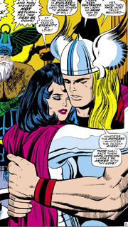 Thor Odinson (Earth-616) and Sif from Thor Vol 1 167
