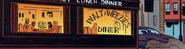 Walt Weezies Diner from Spider-Man Death and Destiny Vol 1 2 001
