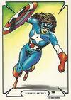 Bernadette Rosenthal (Earth-616) from Mike Zeck (Trading Cards) 0001