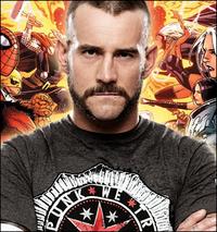 CM Punk Marvel