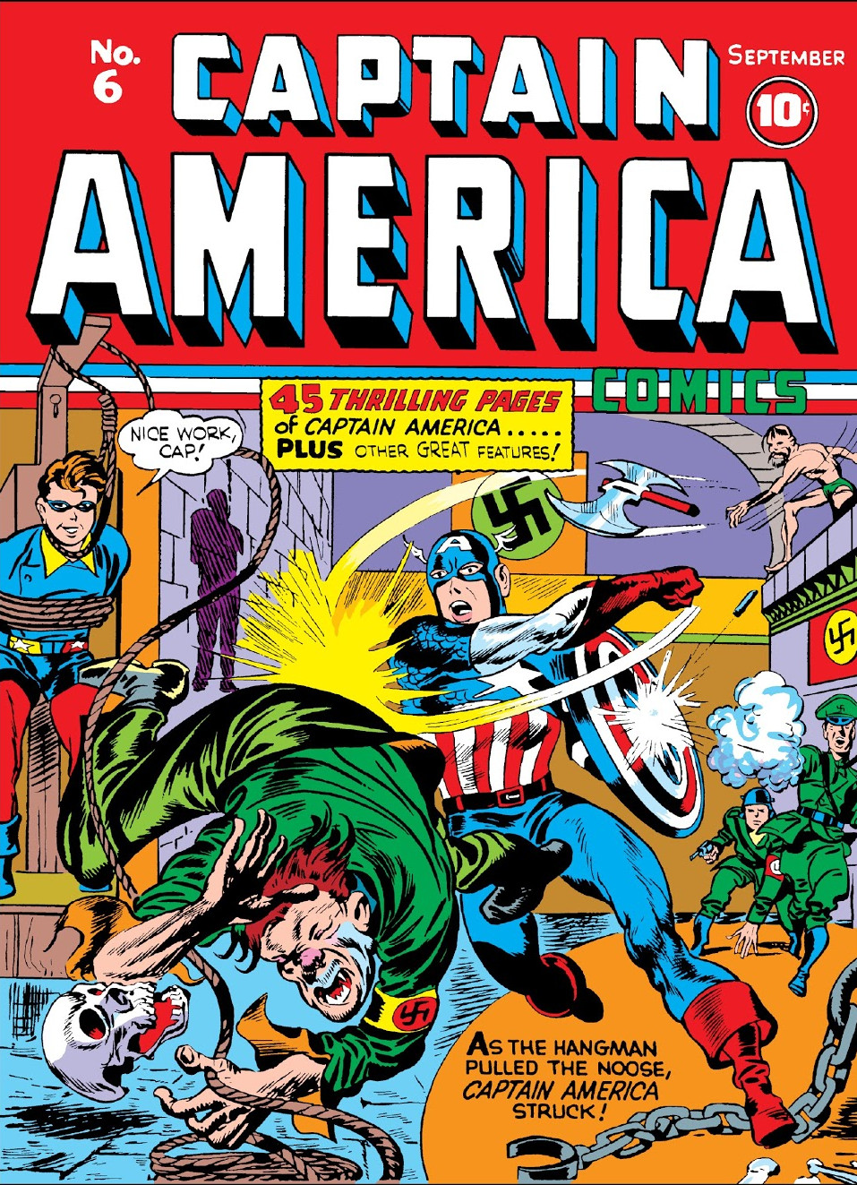 Captain America Comics Vol 1 6