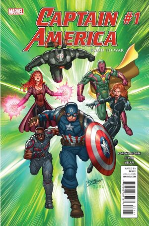 Captain America Road to War Vol 1 1