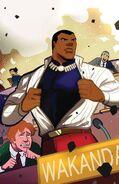 Civil War II X-Men Vol 1 4 Black Panther 50th Anniversary Variant Textless