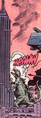 Godzilla (Earth-616) from Godzilla Vol 1 24 0001