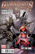 Guardians of the Galaxy Vol 3 1 Deadpool Variant