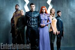 Inhumans Main Cast