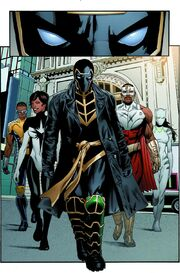 Mighty Avengers (Cage) (Earth-616) from Mighty Avengers Vol 2 4.INH 001