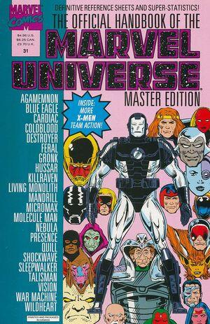 Official Handbook of the Marvel Universe Master Edition Vol 1 31