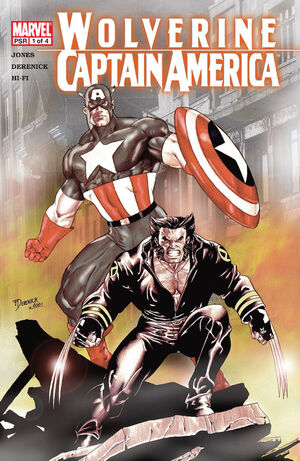 Wolverine Captain America Vol 1 1