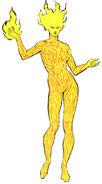 Amara Aquilla (Earth-616 from Official Handbook of the Marvel Universe Vol 2 7 0001