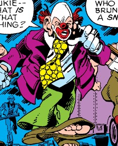 Bruno (Clown) (Earth-616) from X-Men Vol 1 111 001