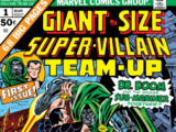 Giant-Size Super-Villain Team-Up Vol 1 1