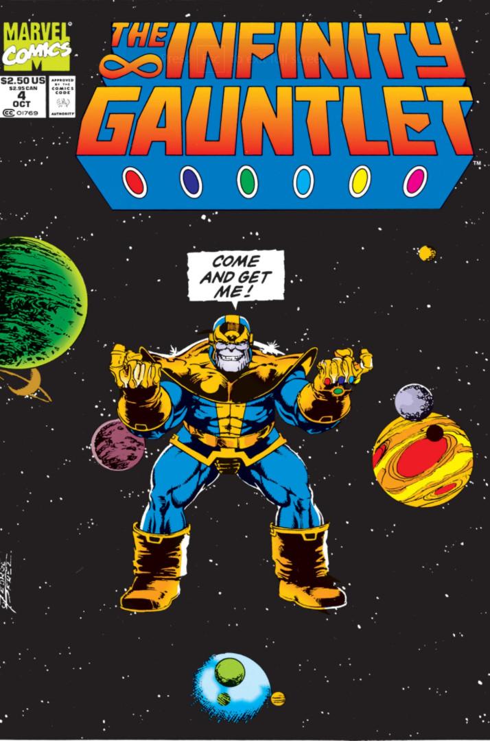infinity gauntlet vol 1 4 | marvel database | fandom poweredwikia