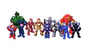 Iron Legion (Earth-91119) from Marvel Super Hero Squad Online 001