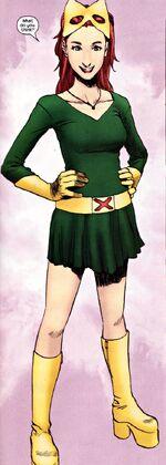 Jean Grey (Earth-616) Graduation Costume from X-Men Unlimited Vol 1 42