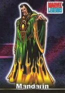 Mandarin (Earth-616) from Marvel Legends (Trading Cards) 0001