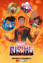 Marvel Rising Playing With Fire Poster 001