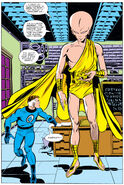 Mister Fantastic and the Futurist from Fantastic Four Vol 1 215