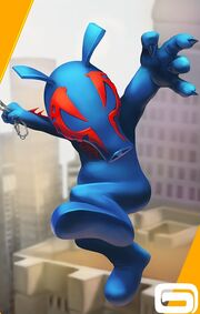 Piguel O'Malley (Earth-TRN461) from Spider-Man Unlimited (video game) 002