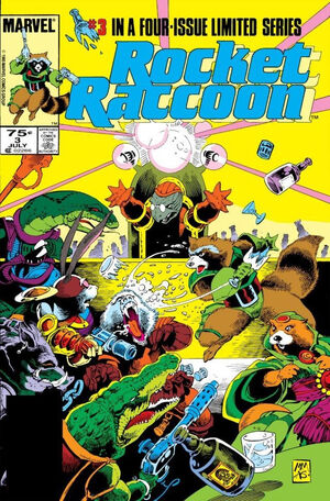 Rocket Raccoon Vol 1 3