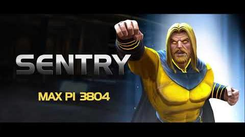 Sentry Special Moves Marvel Contest of Champions