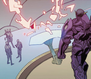 Sorrow (Skrull Warship) from Avengers Vol 5 18 001