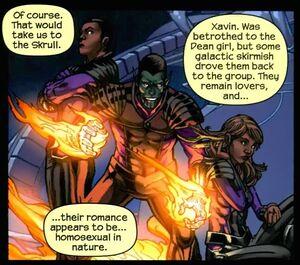 Xavin (Earth-616) from Runaways Vol 2 25 003