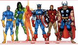 Avengers (Earth-90110) from Avengers Assemble Vol 1 1 0001