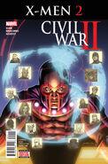 Civil War II X-Men Vol 1 2