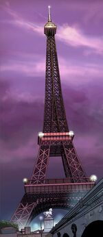Eiffel Tower from Uncanny X-Force Vol 1 25 001