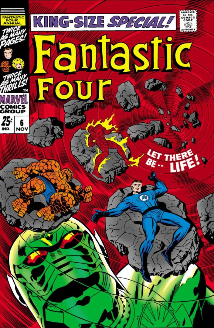 Fantastic Four Annual Vol 1 6