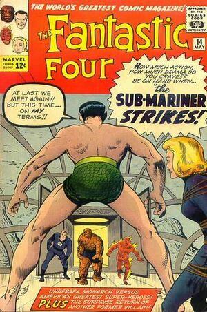 Fantastic Four Vol 1 14 Vintage