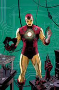 Hawkeye Vol 4 10 Many Armors of Iron Man Variant Textless