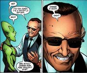 Impossible Man (Earth-616) and Stan Lee (Earth-616) from Stan Lee Meets Doctor Strange Vol 1 1 001