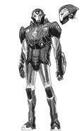Infinity Wars Iron Hammer Vol 1 1 Design Variant Textless