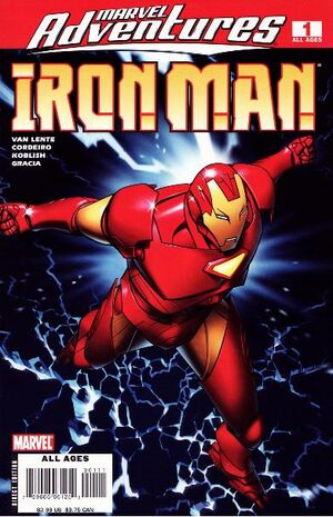 Marvel Adventures Iron Man Vol 1 1