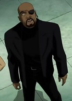 Nicholas Fury (Earth-3488) from Ultimate Avengers The Movie 0002