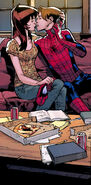 Peter Parker (Earth-1610) and Mary Jane Watson (Earth-1610) from Ultimate Spider-Man Vol 1 129 0001