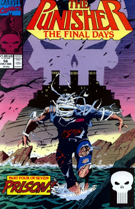 Vol.2 No.56 The Punisher Mike Baron /& Hugh Haynes 1991 Jigsaw