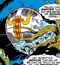 Bubble Ship from Super-Villain Team-Up Vol 1 13