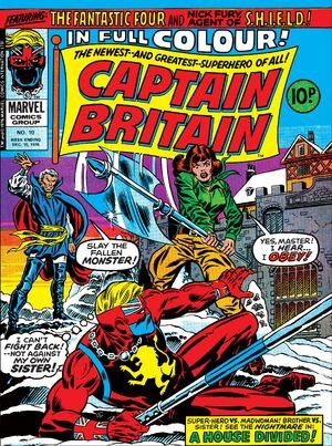 Captain Britain Vol 1 10