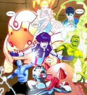 David Haller (Earth-616) showing other sub personalities from X-Men Legacy Vol 1 249 001